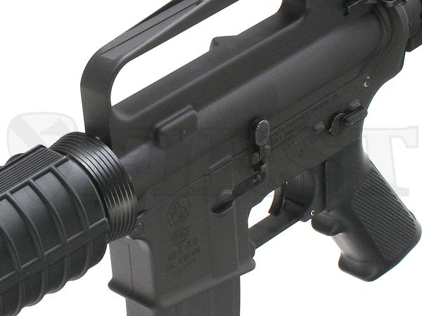 M16A2をベースに『政府支給品』の文字がない独特の刻印。こうした試作モデルは特殊部隊員が私費でオーダーし購入するケースが多かった。
