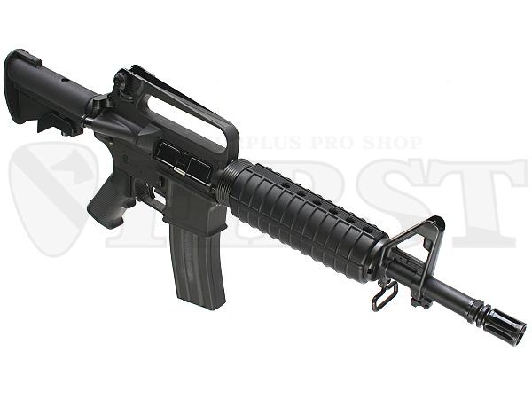 M16系電動ガンの通常ラインナップ中最も短く軽量で、全てのゲーマーにお薦めできる1挺。外装フルカスタムのベース機種としても最適
