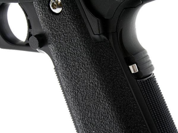ハイキャパ刹那のに標準装備のセミ/フルセレクタースイッチ。
