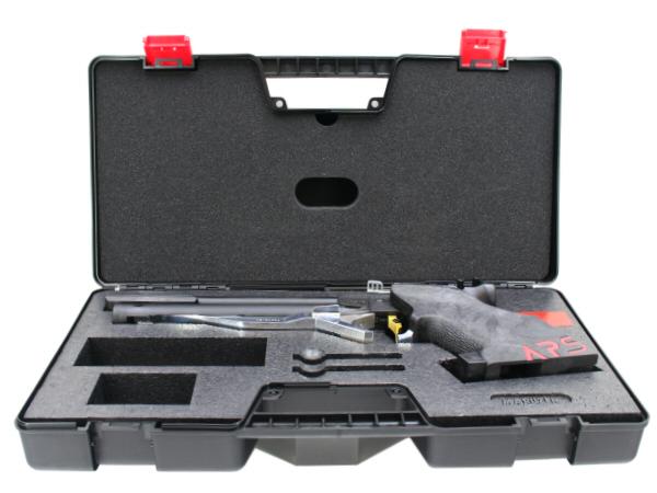 精密競技銃には欠かせないハードケースが付属。
