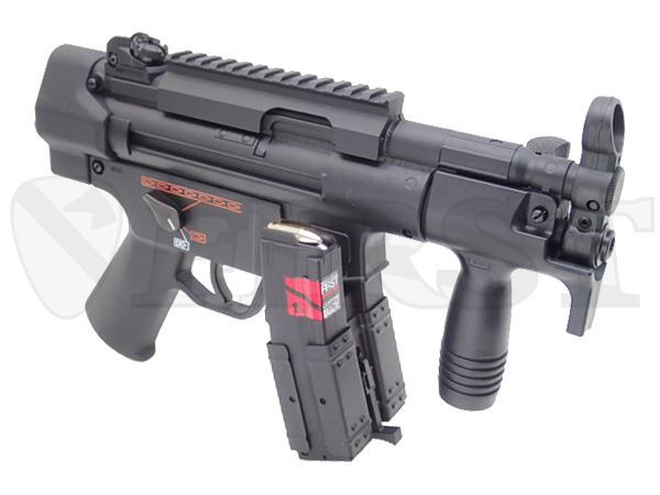 【ハイサイクル】マルイ MP5K HC with ケミカルパワーマガジン