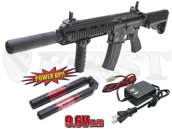 【次世代電動ガン】マルイ DEVGRU CUSTOM HK416D 高性能9.6Vカスタムバッテリーセット