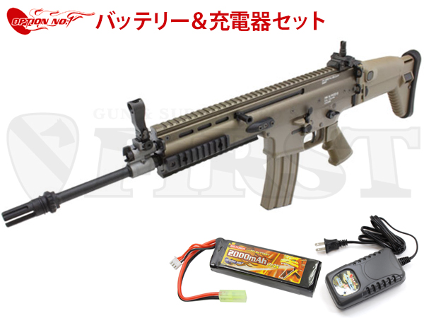 ����ޥ륤 ��������ư���� SCAR-L Mk16 Mod.0 FDE OPTION No.1 LIPO�Хåƥ꡼�����Ŵ糧�å�