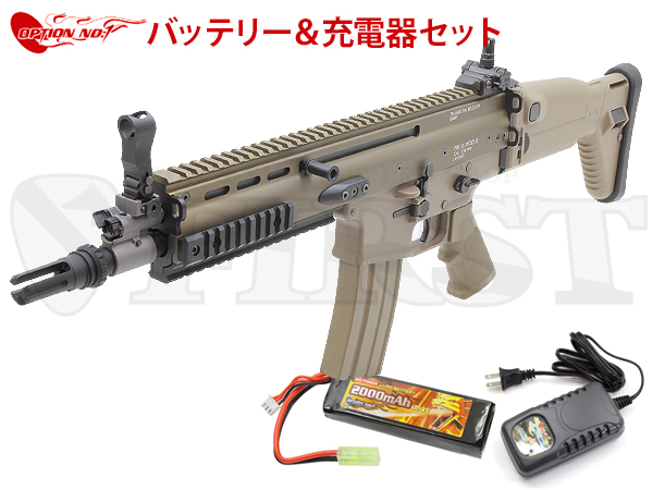 ����ޥ륤 ��������ư���� SCAR-L CQC FDE OPTION No.1 LIPO�Хåƥ꡼�����Ŵ糧�å�