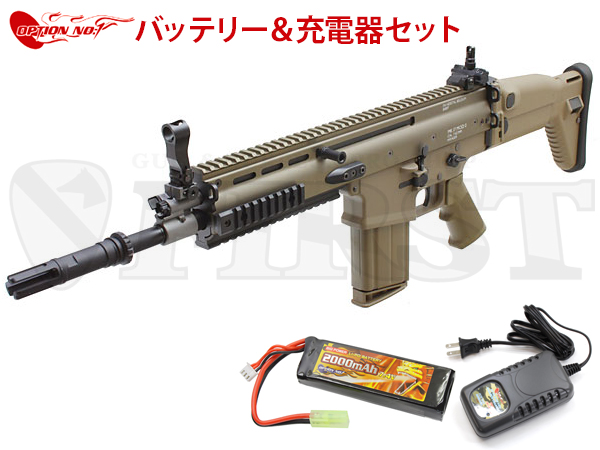 ����ޥ륤 ��������ư���� SCAR-H Mk17 Mod.0 FDE OPTION No.1 LIPO�Хåƥ꡼�����Ŵ糧�å�