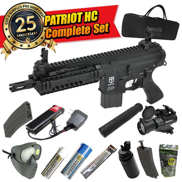【本店25周年超特価】M4 PATRIOT(パトリオット) HC コンプリートセット