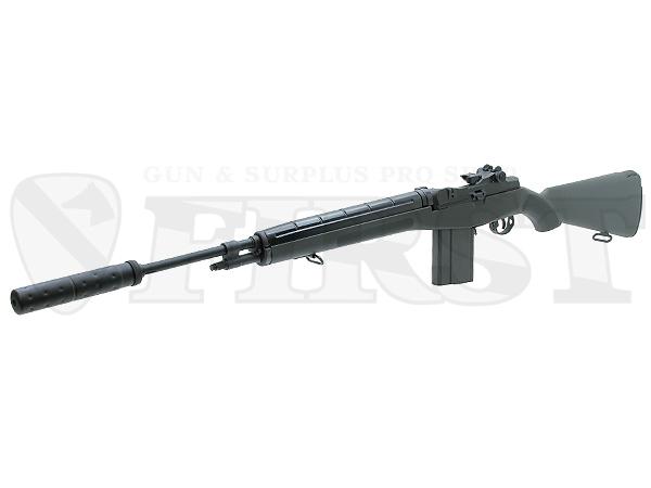 マルイ U.S.ライフル M14 ファイバータイプODストックバージョン 電動ガン サプレッサー付モデル