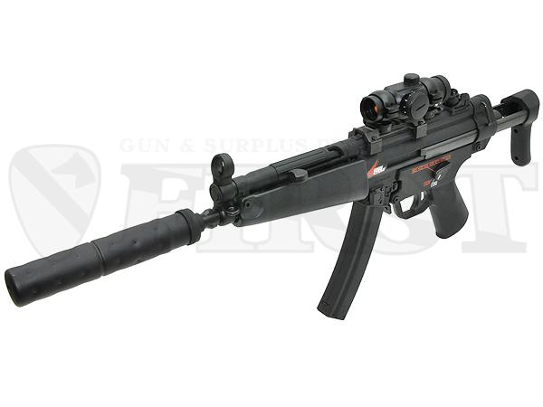 【ハイサイクル】マルイ MP5A5 HC 電動ガン サプレッサー付モデル