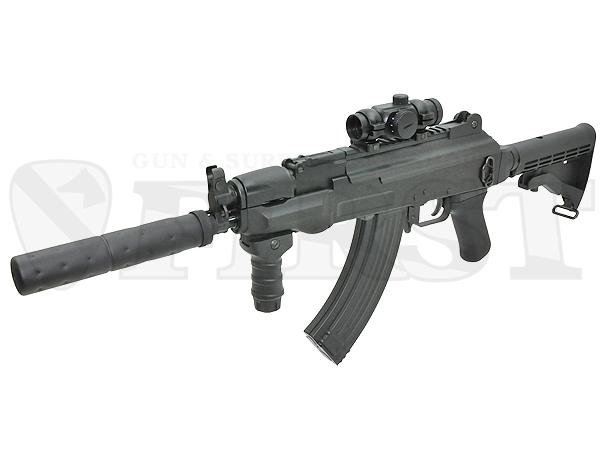【ハイサイクル】マルイ AK47 HC 電動ガン サプレッサー付モデル