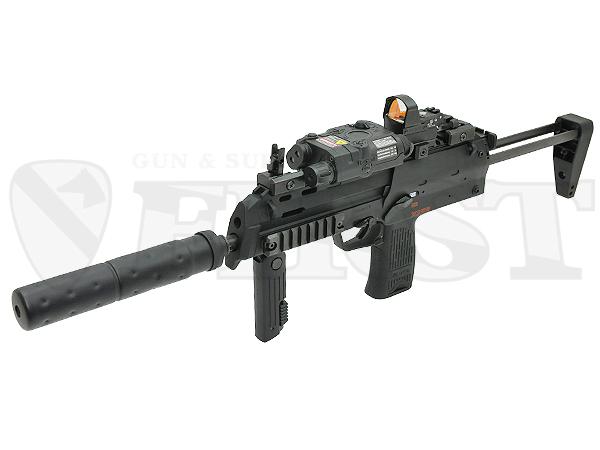 マルイ 電動コンパクトマシンガン MP7A1 BK サプレッサー付モデル
