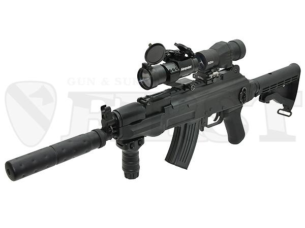 【ハイサイクル】マルイ AK47 HC 電動ガン ドットサイト レンズカバー付モデル
