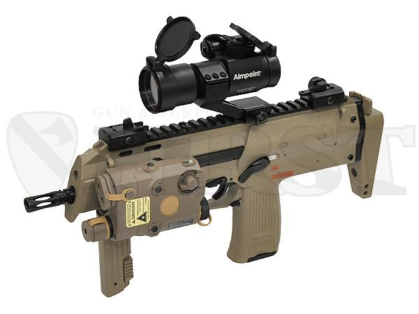 マルイ 電動コンパクトマシンガン MP7A1 TAN ドットサイト レンズカバー付モデル