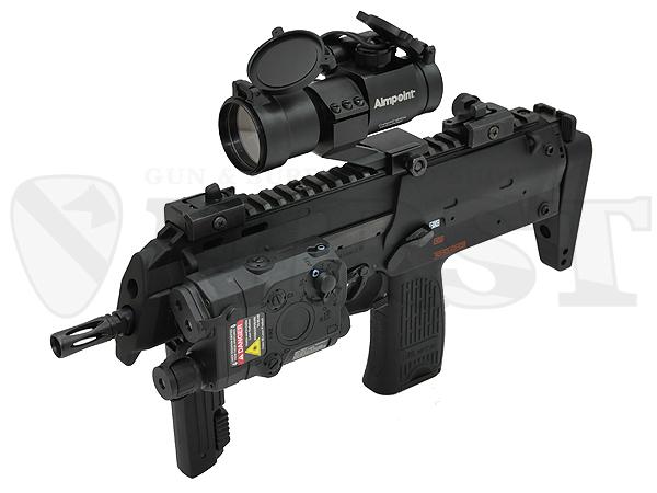 マルイ 電動コンパクトマシンガン MP7A1 BK ドットサイト レンズカバー付モデル