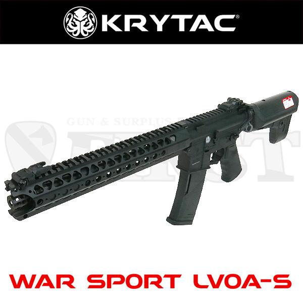 KRYTAC WAR SPORT LVOA-S BK 電動ガン