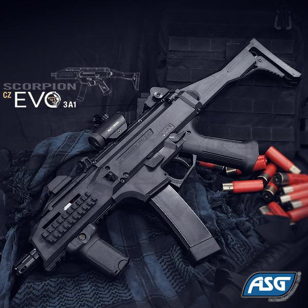 Cz Scorpion EVO3 A1 電動ガン