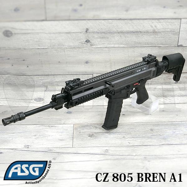 【再販予約】CZ 805 BREN A1 電動ガン ブラック/グレー