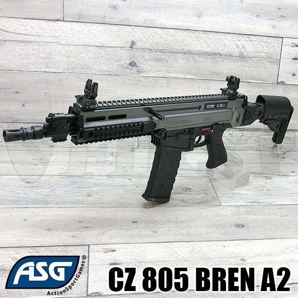【新商品予約】CZ 805 BREN A2 電動ガン ブラック/グレー