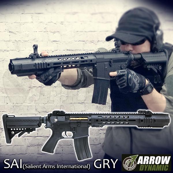 SAI GRY M4 13.5インチ スタンダード電動ガン