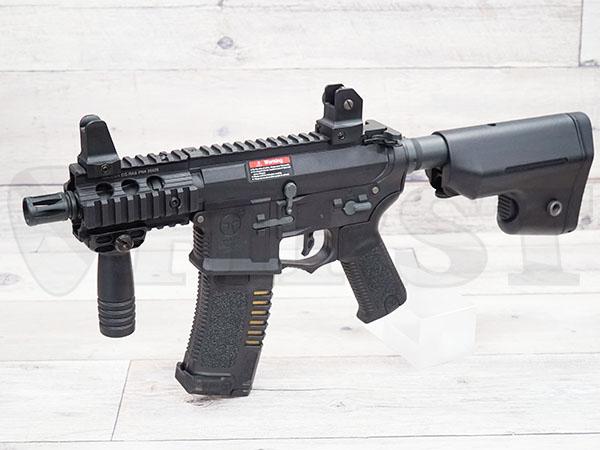 AR-046-BK AMOEBA コンバットギア タクティカルライフル ショート BK 電動ガン