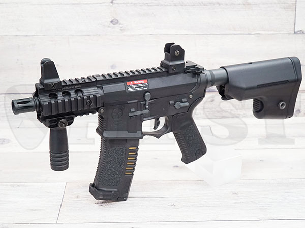 AR-046-BK AMOEBA コンバットギア タクティカルライフル ショート BK 完成品電動ガン