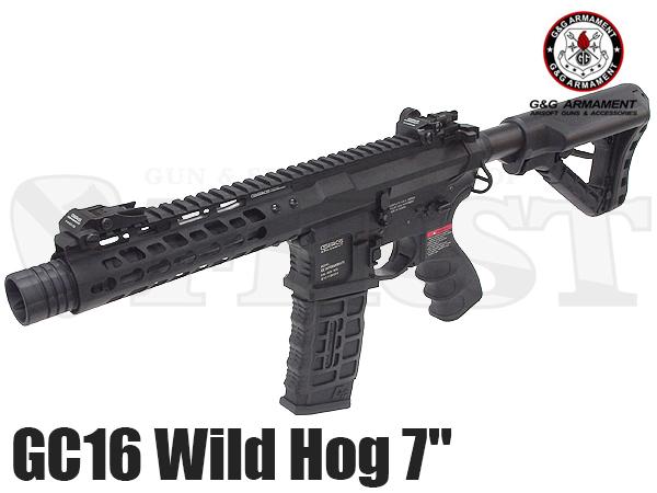 GC16 WILDHOG(ワイルドホグ) 7インチ