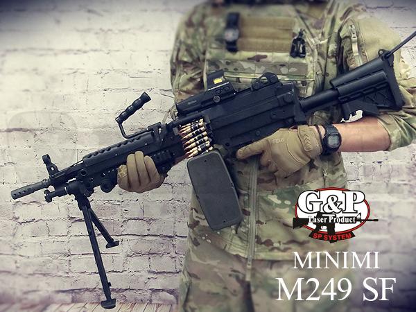 GP740 ミニミ M249 SFストック 電動ガン