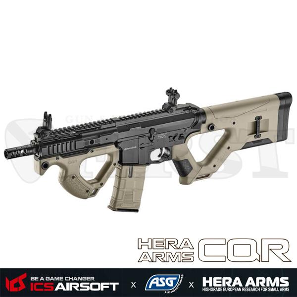 ICS×ASG HERA ARMS CQR 電動ガン 2tone (Ver.2 SSS/EBB/JP Ver.)