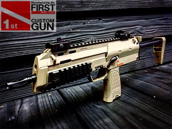 東京マルイ 電動コンパクトマシンガン new MP7A1 TAN レイルモデル