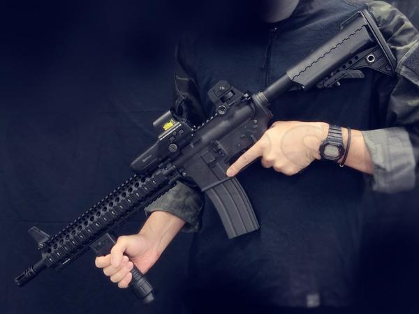 【一品堂】Daniel Defense AR15ライト IMODストックVer. 東京マルイ リアルガスブローバック M4A1カービン