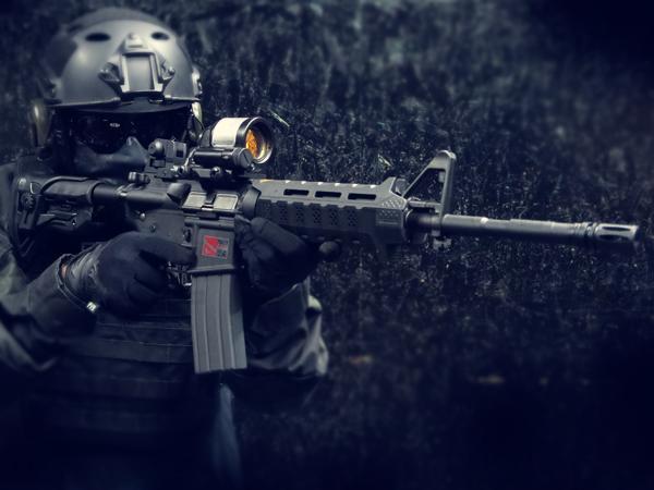【一品堂】StrikeIndustries Viper GL-SHOCKストックVer. 東京マルイ リアルガスブローバック M4A1カービン