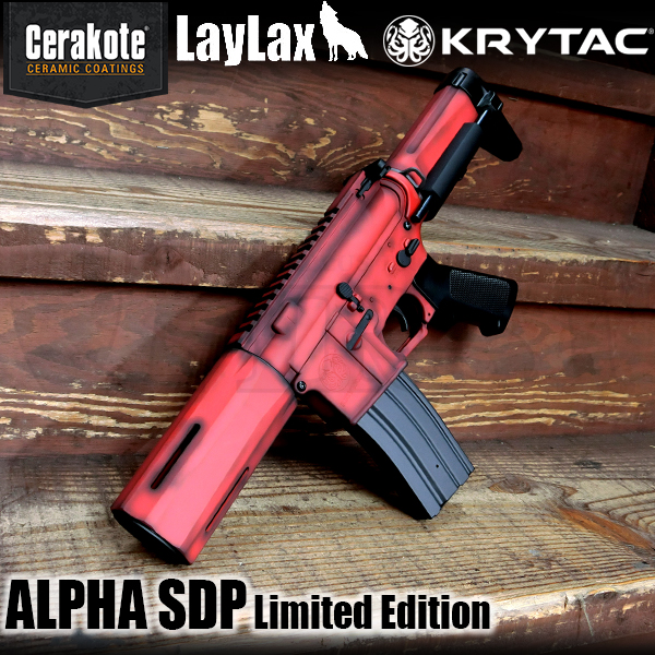 【数量限定】KRYTAC ALPHA SDP セラコートVer. USMC Red/ Graphite Black