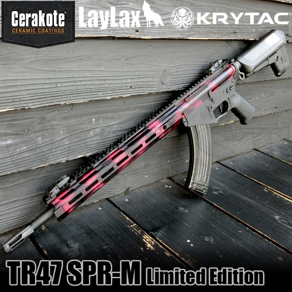 【数量限定】KRYTAC TRIDENT TR47 SPR-M キャンディカラー(BK&ルージュ) セラコートマットクリア仕上げ