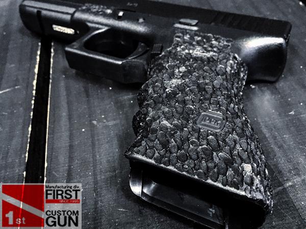 【一品堂】マルイ Glock17 スティップリング加工