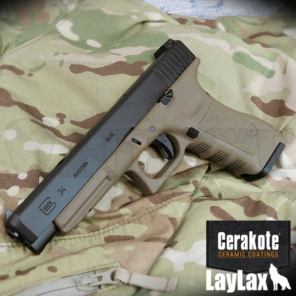 【限定予約】マルイ ガスブローバック グロック34 セラコート フレーム「Glock FDE」