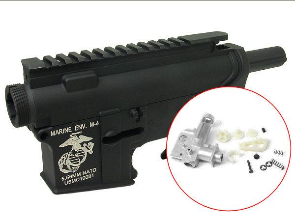 従来型M4/M16シリーズ メタルフレーム組込み加工