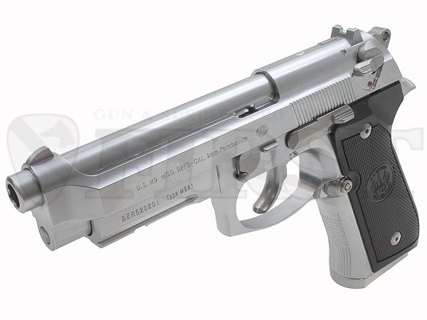 マルイ ガスブローバック M9A1 ステンレスモデル