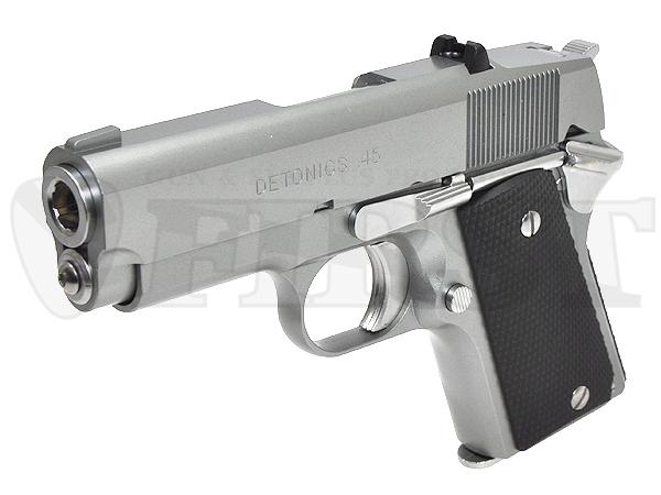 マルイ ガスブローバック デトニクス.45 ステンレスモデル