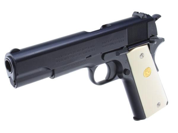 SCW COLT M1911 栗林中将の拳銃 ロイヤルブルー | 絶賛SALE中! 品揃え日本最大のエアガン市場、FIRST 中古エアガン、サバゲー装備、電動ガン、エアガン通販
