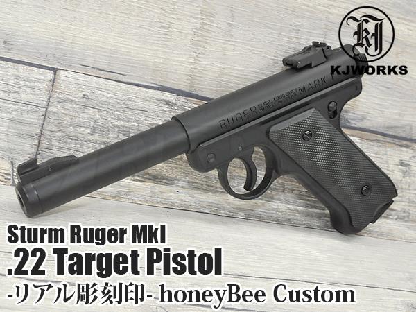 【限定品】スタームルガー Mk .22ターゲットピストル(リアル刻印モデル)