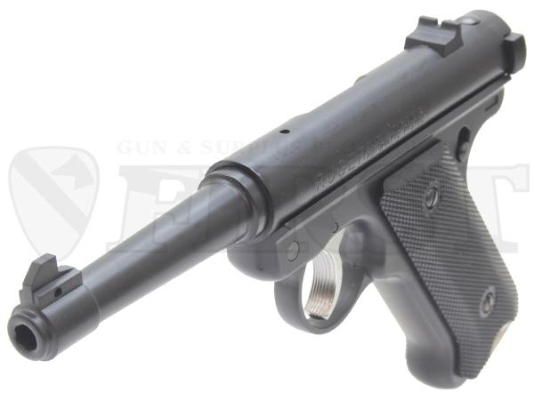【再販予約】6mm固定ガスガン スタームルガーMkI ノーマルバレル BK ABS