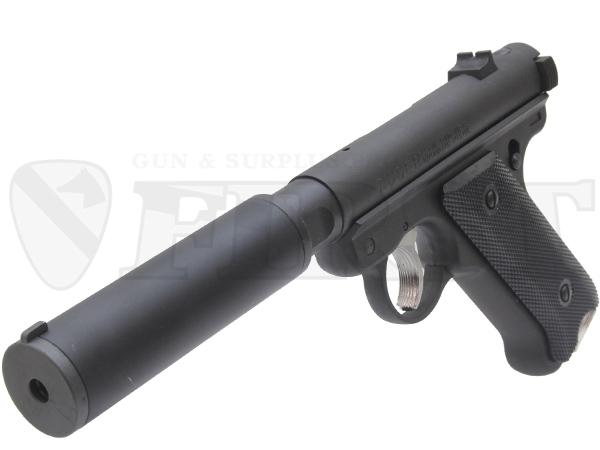 6mm固定ガスガン スタームルガーMkI アサシンズ SDバレル仕様 BK HW
