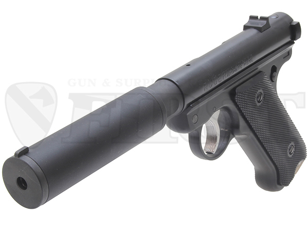 6mm固定ガスガン スタームルガーMkI アサシンズ SDバレル仕様 BK ABS