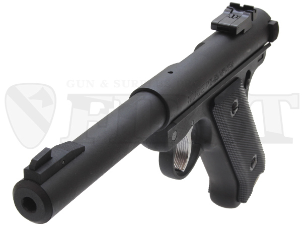 6mm固定ガスガン スタームルガーMkI ブルバレル BK HW