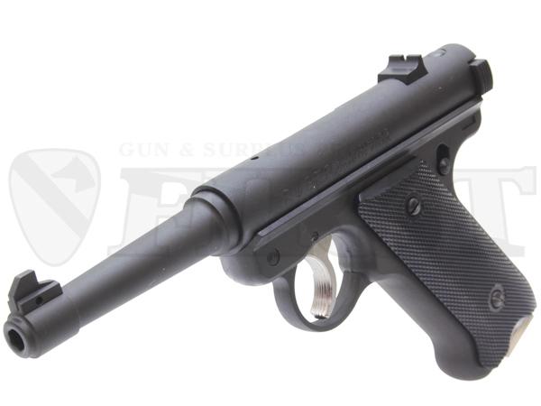 6mm固定ガスガン スタームルガーMkI ノーマルバレル BK HW