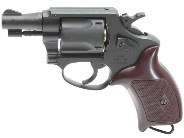 Xカートリッジ仕様 8mm ポリスリボルバー 2インチ HW