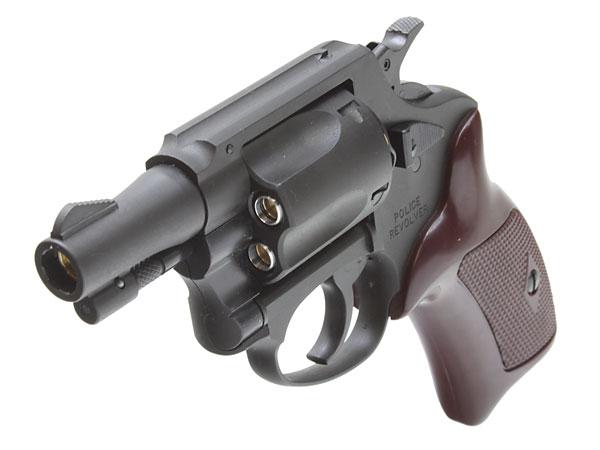6mm Xカートリッジ仕様 ポリスリボルバー 2インチ HW