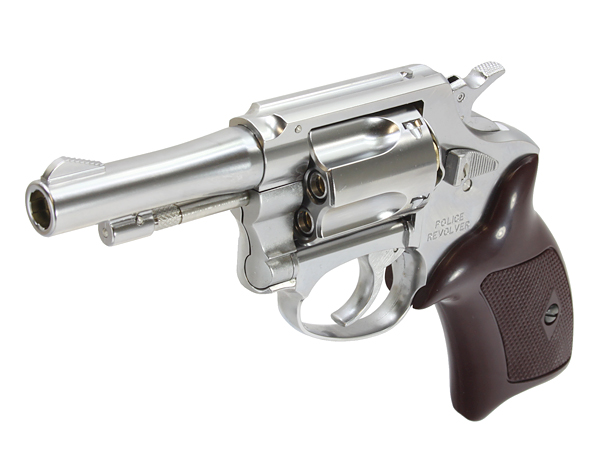 6mm Xカートリッジ仕様 ポリスリボルバー 3インチ ABS SV