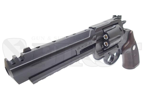 6mm Xカートリッジ仕様 アンリミテッドリボルバー BK ABS