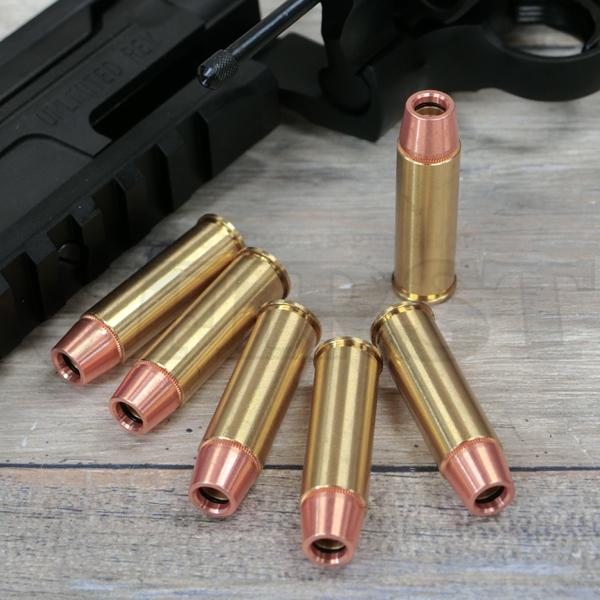 【新製品予約】44マグナム リアルXカートリッジ 6mmBB弾用 6発セット