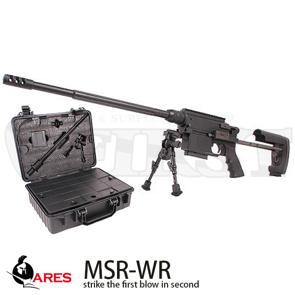 ARES MSR-WR エアーコッキングライフル 専用ケース付